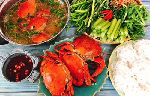Hướng dẫn cách nấu lẩu cua biển